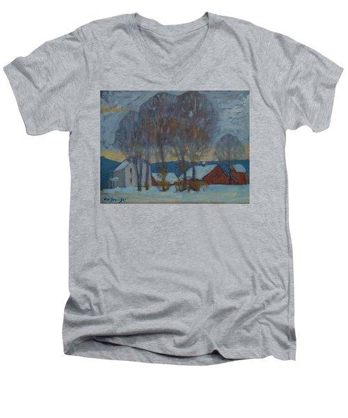 Another Look At Kordana's Men's V-Neck T-Shirt by Len Stomski