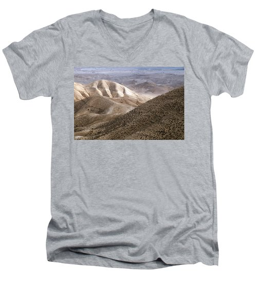 Another View From Masada Men's V-Neck T-Shirt