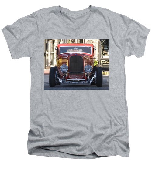 Antique Coup Front End Men's V-Neck T-Shirt