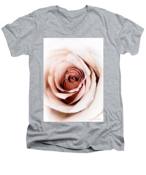Antique Rose Men's V-Neck T-Shirt