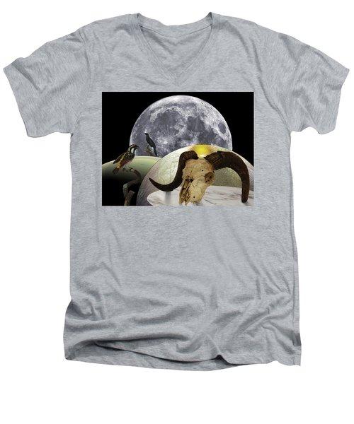 Anxious Departure Men's V-Neck T-Shirt