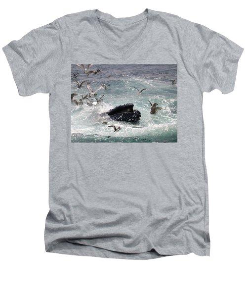 Any Leftovers Men's V-Neck T-Shirt