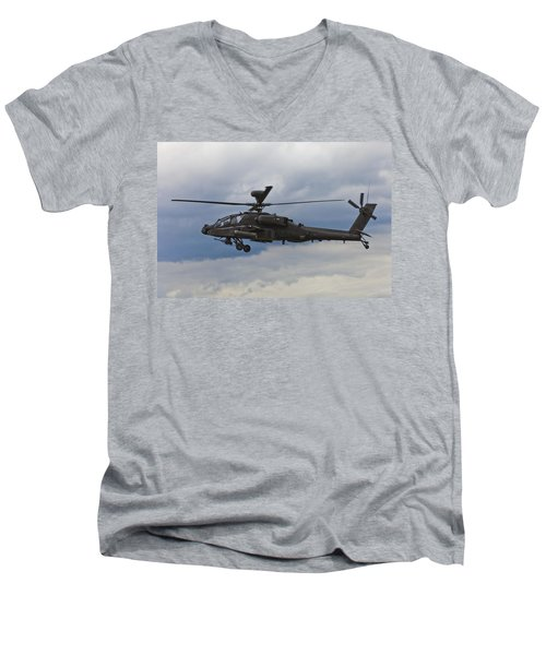 Apache Power Men's V-Neck T-Shirt by Maj Seda