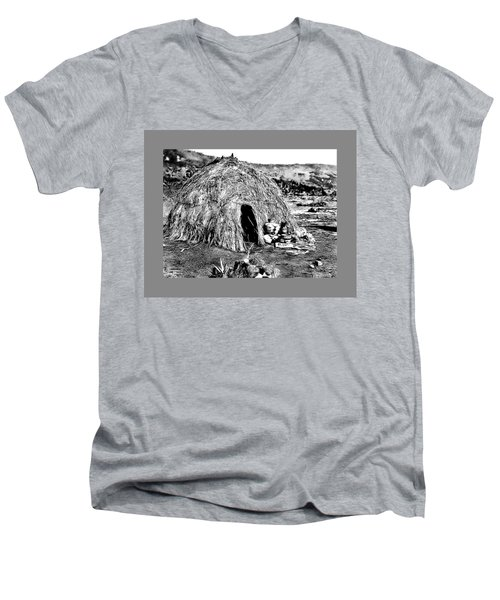 Apache Wikiup Men's V-Neck T-Shirt