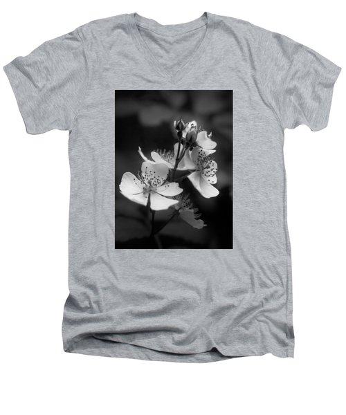Apple Blossom 2 Men's V-Neck T-Shirt by Simone Ochrym