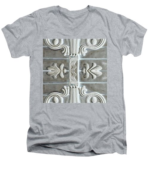 Applique No. 2 Men's V-Neck T-Shirt