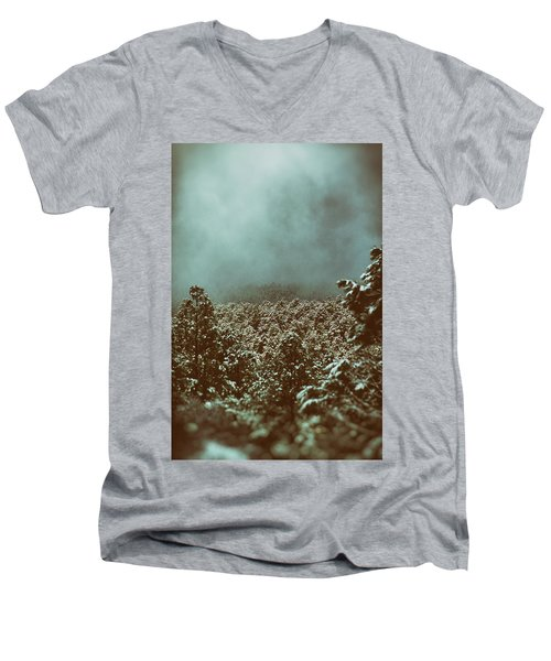 Approaching Storm Men's V-Neck T-Shirt by Jason Coward