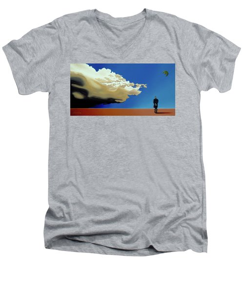 Approaching Storm Men's V-Neck T-Shirt