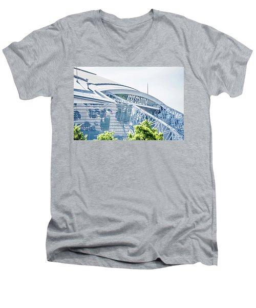 April 2017 Arlington Texas Att Nfl Cowboys Football Stadium  Men's V-Neck T-Shirt