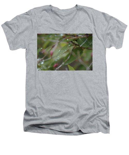 April Showers 1 Men's V-Neck T-Shirt
