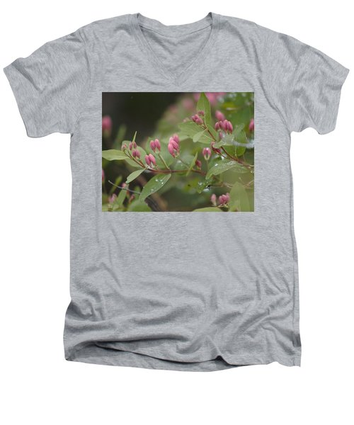 April Showers 4 Men's V-Neck T-Shirt by Antonio Romero