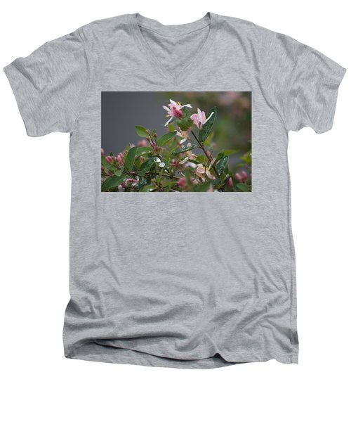 April Showers 7 Men's V-Neck T-Shirt by Antonio Romero