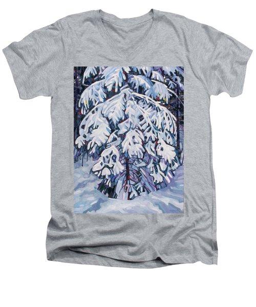 April Snow Men's V-Neck T-Shirt