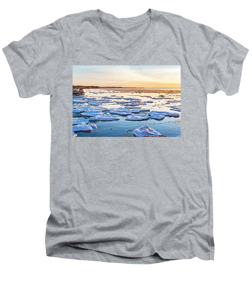 April Sunset Men's V-Neck T-Shirt