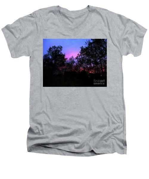 April Sunset Men's V-Neck T-Shirt