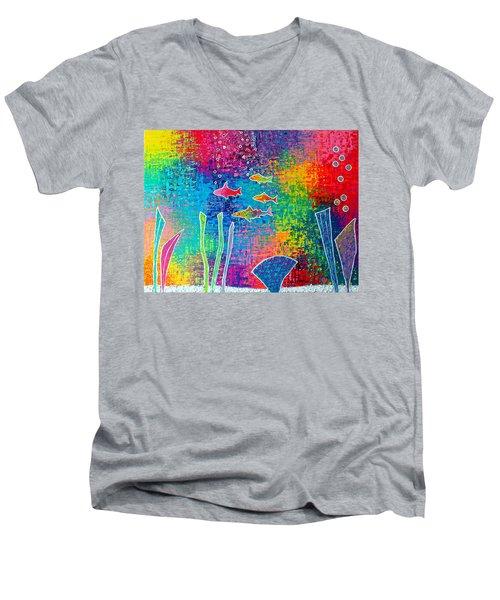 Aquarium Men's V-Neck T-Shirt