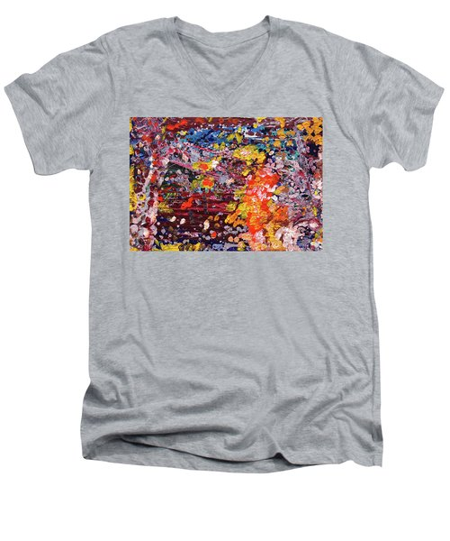 Aquarium Men's V-Neck T-Shirt