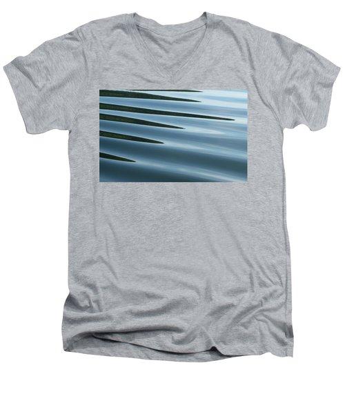 Men's V-Neck T-Shirt featuring the photograph Aquarius by Cathie Douglas
