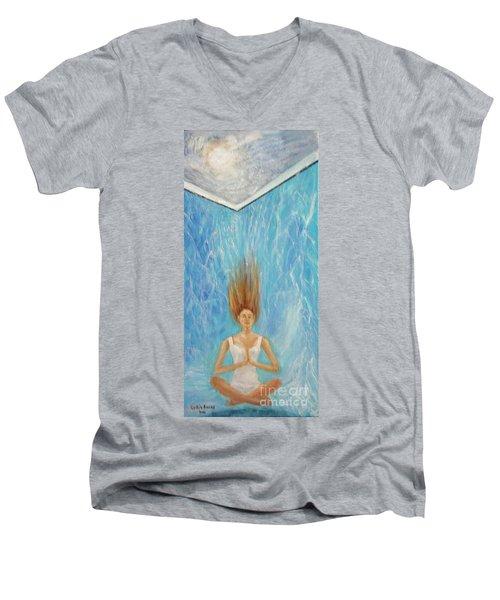 Aquatic Retreat Men's V-Neck T-Shirt