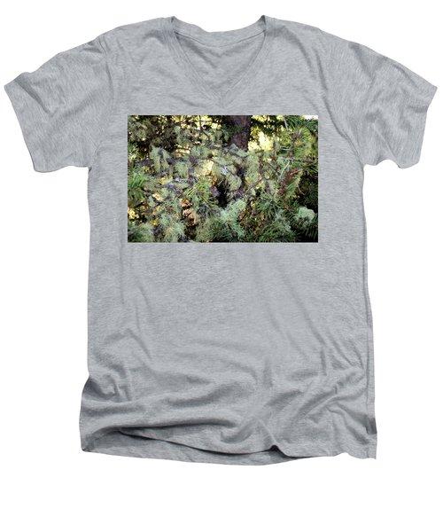 Arboreal Lichens Men's V-Neck T-Shirt