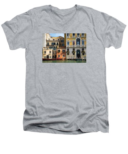 Architecture Of Venice - Italy Men's V-Neck T-Shirt