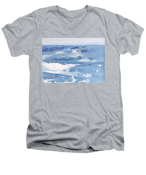 Arctic Ocean Men's V-Neck T-Shirt