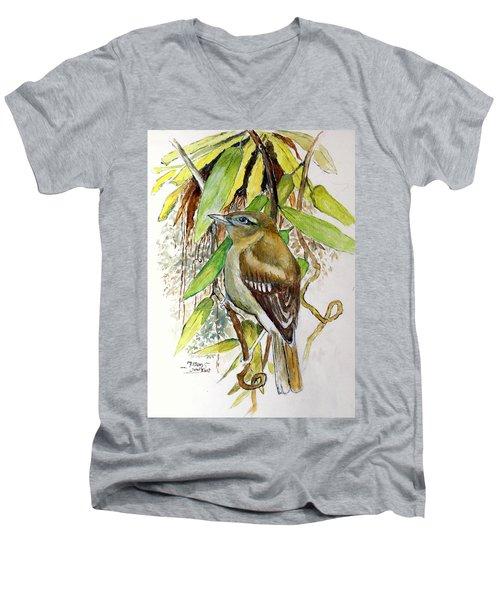 Arctic Warbler Men's V-Neck T-Shirt