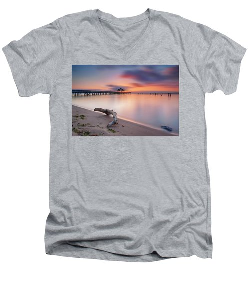 Are We Predestined To Get What We Get Men's V-Neck T-Shirt by Edward Kreis