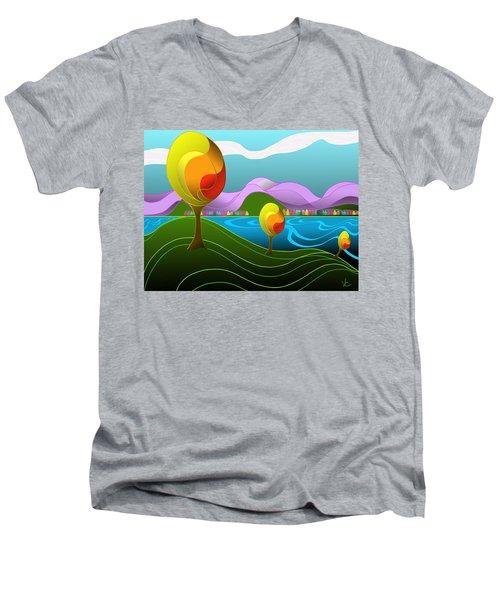 Arfordir Iv Men's V-Neck T-Shirt