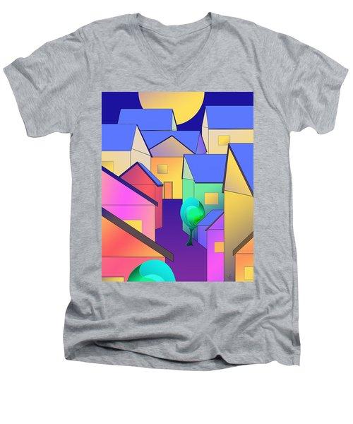 Arfordir Vi Men's V-Neck T-Shirt