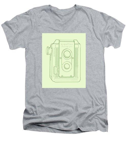 Argoflex Green Men's V-Neck T-Shirt