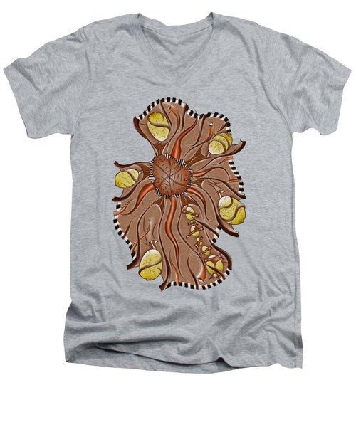 Arholusia V3 Men's V-Neck T-Shirt by Cersatti