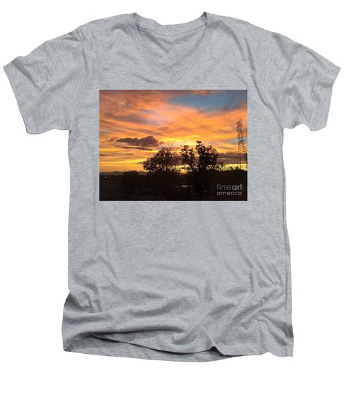 Men's V-Neck T-Shirt featuring the photograph Arizona Awesome by Anne Rodkin