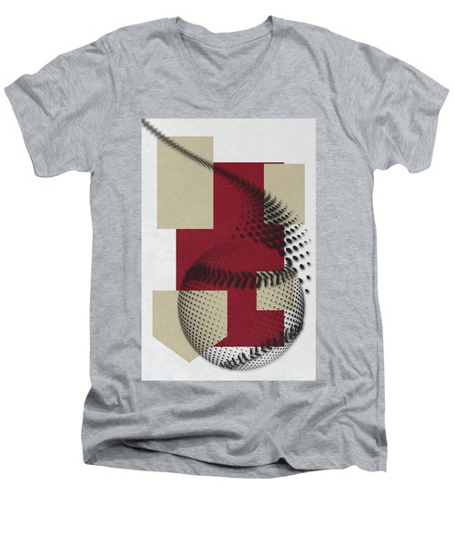 Arizona Diamondbacks Art Men's V-Neck T-Shirt
