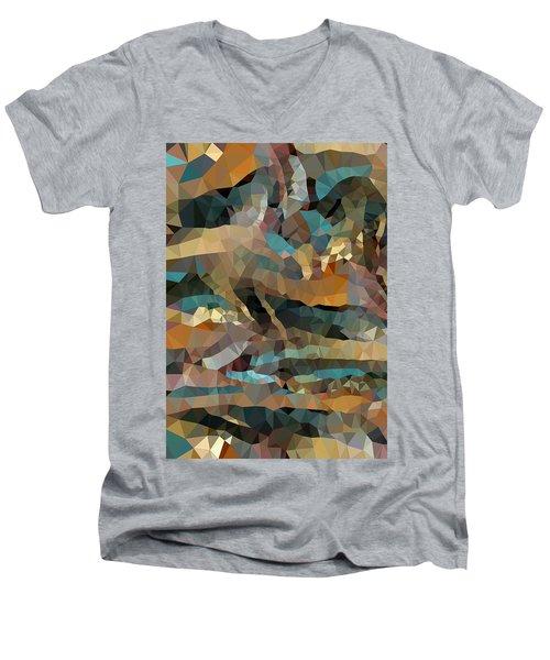 Arizona Triangles Men's V-Neck T-Shirt