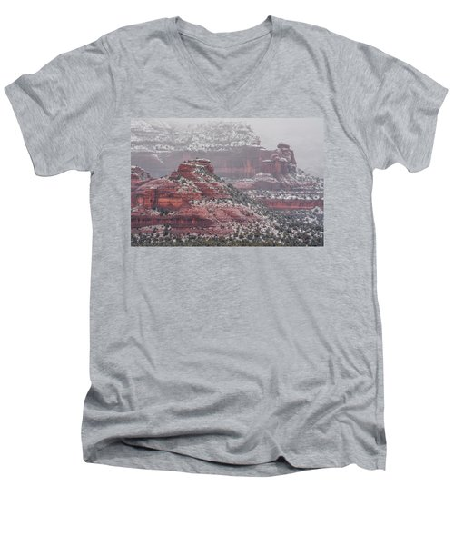Arizona Winter Men's V-Neck T-Shirt