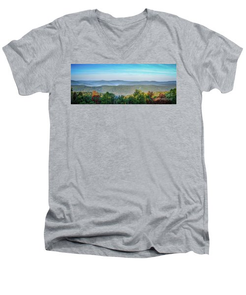 Arkansas Men's V-Neck T-Shirt