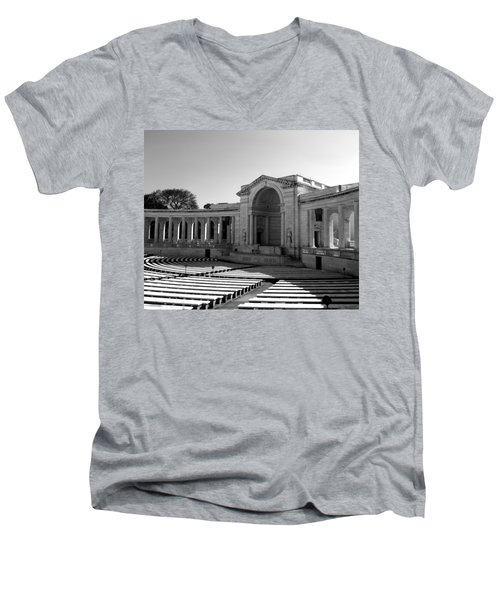 Arlington Memorial Amphitheater Men's V-Neck T-Shirt