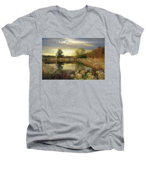 Arrival Of Dawn Men's V-Neck T-Shirt
