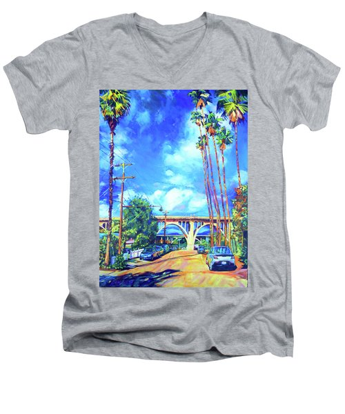 Arroyo Palms Men's V-Neck T-Shirt