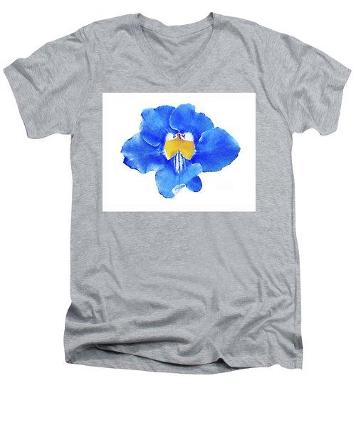 Art Blue Beauty Men's V-Neck T-Shirt