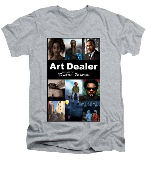 Art Dealer Promo 1 Men's V-Neck T-Shirt