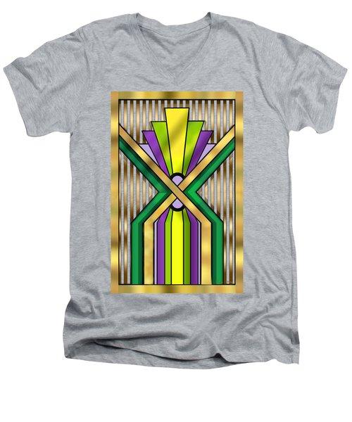 Art Deco 14 B Men's V-Neck T-Shirt