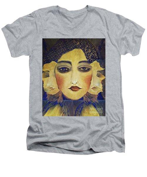 Art Deco  Beauty Men's V-Neck T-Shirt
