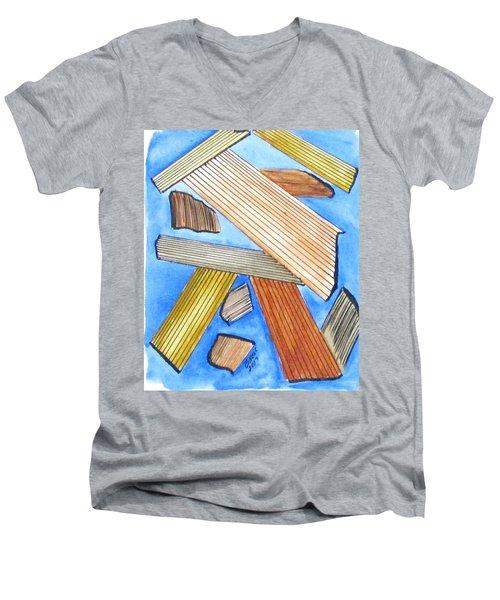 Art Doodle No. 24 Men's V-Neck T-Shirt
