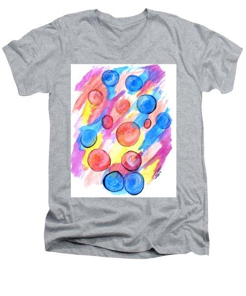 Art Doodle No. 25 Men's V-Neck T-Shirt