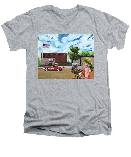 Art Gal 2 Men's V-Neck T-Shirt