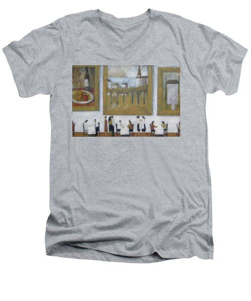 Art Is Long, Life Is Short Men's V-Neck T-Shirt