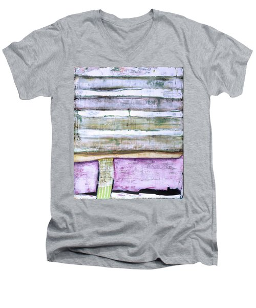 Art Print Abstract 93 Men's V-Neck T-Shirt