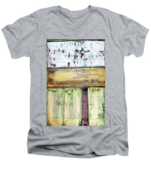 Art Print Abstract 52 Men's V-Neck T-Shirt